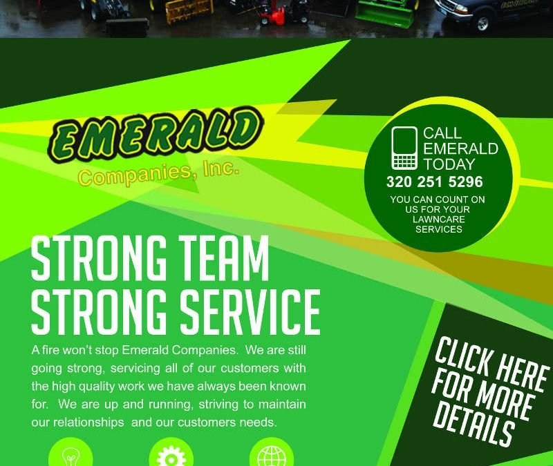 From Lemons to Lemonade – Emerald Companies Service Remains Strong