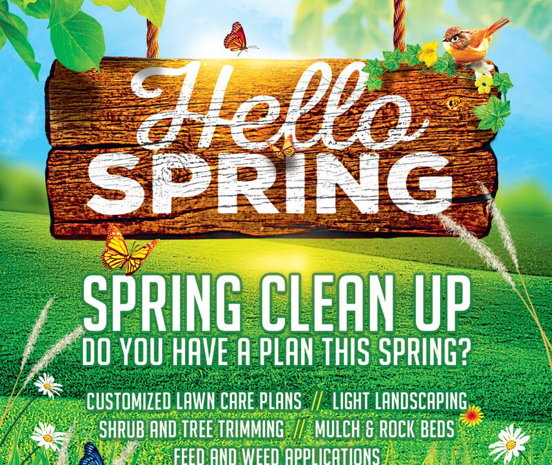 Spring Clean Up – The Emerald Way