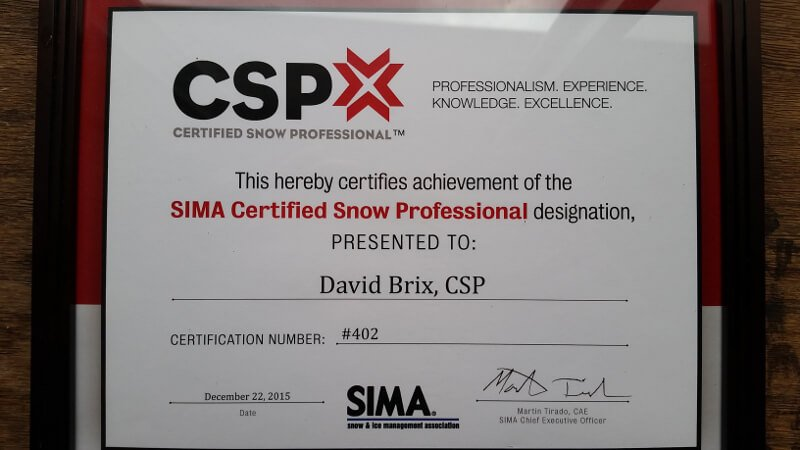 Certified Snow Professional
