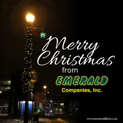 Merry Christmas From Emerald